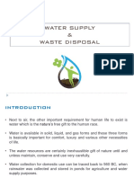 water supply resourses