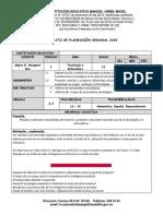 PLANEACIÓN SEMANAL 2020 -  2Y3 Tecnologia -  11°.docx