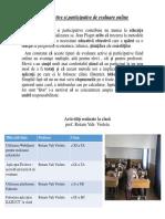 Metode active si participative de evaluare online