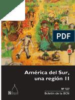 América del Sur, una región II Boletín de la BCN N°127
