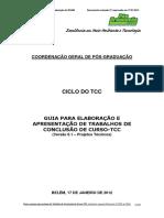 ELABORAÇÃO DE TCC