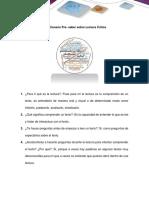 FASE 1 PRE-TAREA ACTIVIDAD INDIVIDUAL 2 ANEXO 2 CUESTIONARIO DE PRE-SABERES SOBRE LECTURA CRITICA LECTURA CRITICA