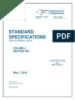NYSDOT Standard Specifications Update 2019-05-01