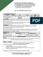 PLANEACIÓN SEMANAL 2020 -  2Y3 Tecnologia -  9°.docx