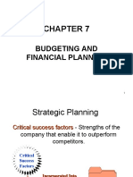 7 Budget and Financial Planning