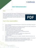 JD - Wintel Administrator