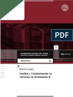 TB - Gestión y Administracion de Unidades de Informacion II 2019