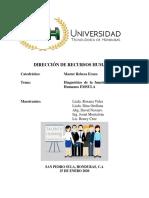 Informe Final Diagnóstico de La Función de Recursos Humanos EMSULA