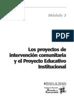 CVC_Los proyectos de intervencion comunitaria y proyecto educativo institucional.pdf