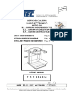 VIMEC (Manual 7514040-C  de la silla Salva-escaleras V65 Electronica 2007)