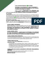 CONTRATO DE LOCACION DE SERVICIOS SUPERVISOR