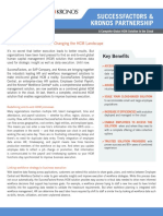 SuccessFactors et Kronos Partenariat