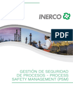 Gestión de seguridad de procesos