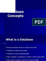 Database Concepts for CR
