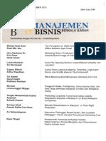 9. Saling Peran Antara Peran antara Budgeting Dinamika Lingkungan Bisnis