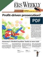 South Carolina Lawyers Weekly - October 5, 2015
