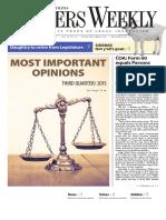 North Carolina Lawyers - October 19, 2015