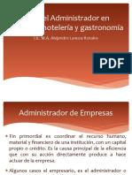 Roles Del Administrador