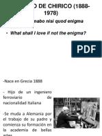 Giorgio De Chirico FINAL