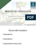 Peridarditis, miocarditis, endocarditis