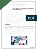 GT 2 NATURALEZA DE LAS ORGANIZACIONES Y NORMATIVIDAD QUE LE APLICA SEGÚN LEGISLACION VIGENTE