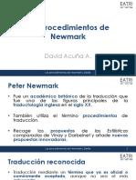 Los procedimientos de Newmark
