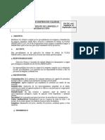 PR-TEC-005 PROCEDIMIENTO DE LIMPIEZA & DESINFECCION