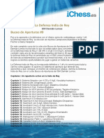 IDR Buceo Aperturas 9 - Sumario