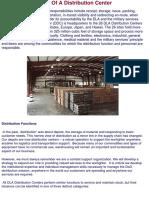 Defense Distribution Center Functions
