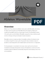 Ableton Wavetable Manual