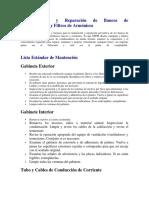 Banco de condensadores Mantenimiento y Reparación - Filtros de Armónicos