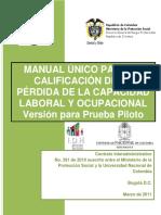 MANUAL UNICO PARA LA CALIFICACION DE LA PERDIDA DE LA CAPACIDAD.pdf