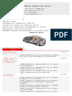 Reparación de chapa puerta h = 278 mm izquierda de atrás para VW t4 autobús recuadro 90-03