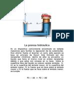 Aplicaciones de los principios Pascal y de Arquímedes