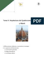 9- La Arquitectura Del Quattrocento Brunelleschi y Alberti