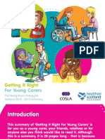 Getting It Right for Young Carers, Summary