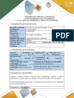 Guía  Paso 4 - Aplicar la propuesta de Acción creada para las familias