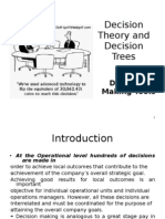 Decision Theory and Decision Trees