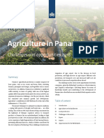 Agriculture in Panama Challenges and opportunities 2018