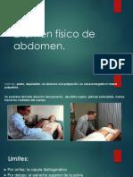 Examen físico de abdomen