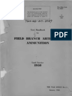 26 Manuals 3835, Field Branch Artillery Ammunition