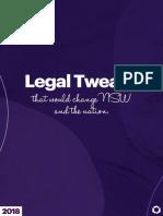 Legal Tweaks - 2018