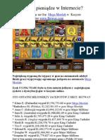 Jak Latwo Wygrac Pieniadze Przez Internet Darmowy e Book PDF