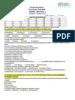EXAMEN DE BIOLOGÍA (PRIM. TRIM.)