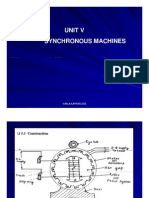 Unit v Synchnronous Machines