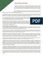 CARACTERISTICAS DEL REINO DE DIOS