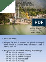 Types of bridges & Selection of bridge site.pptx