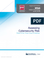 GTAG Assessing Cybersecurity Risk