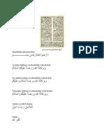 Tulisan Arab Sehari-hari