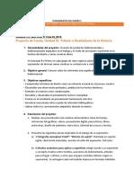 Lineamientos de presentación Proyecto de fondo, Unidad III_FDI 1_02_2019
